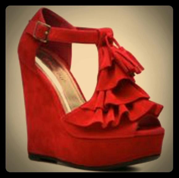 DSW Shoes | Open Toe Wedge Heels 2